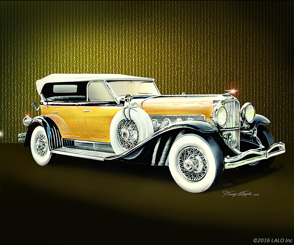 1932 Dusenberg by Danny Whitfield
