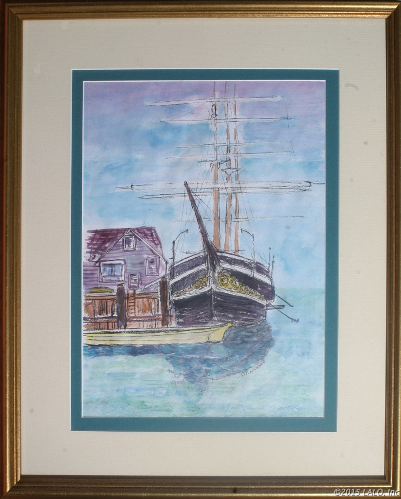 Mystic Seaport by Charles Lickson