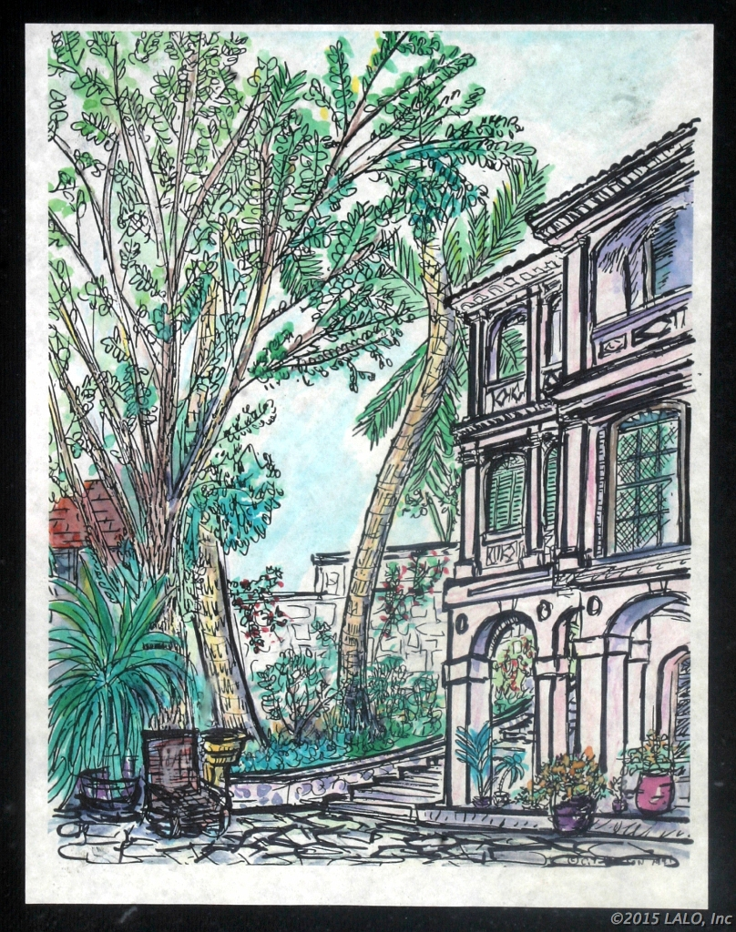 Ranora House - Nassau by Charles Lickson