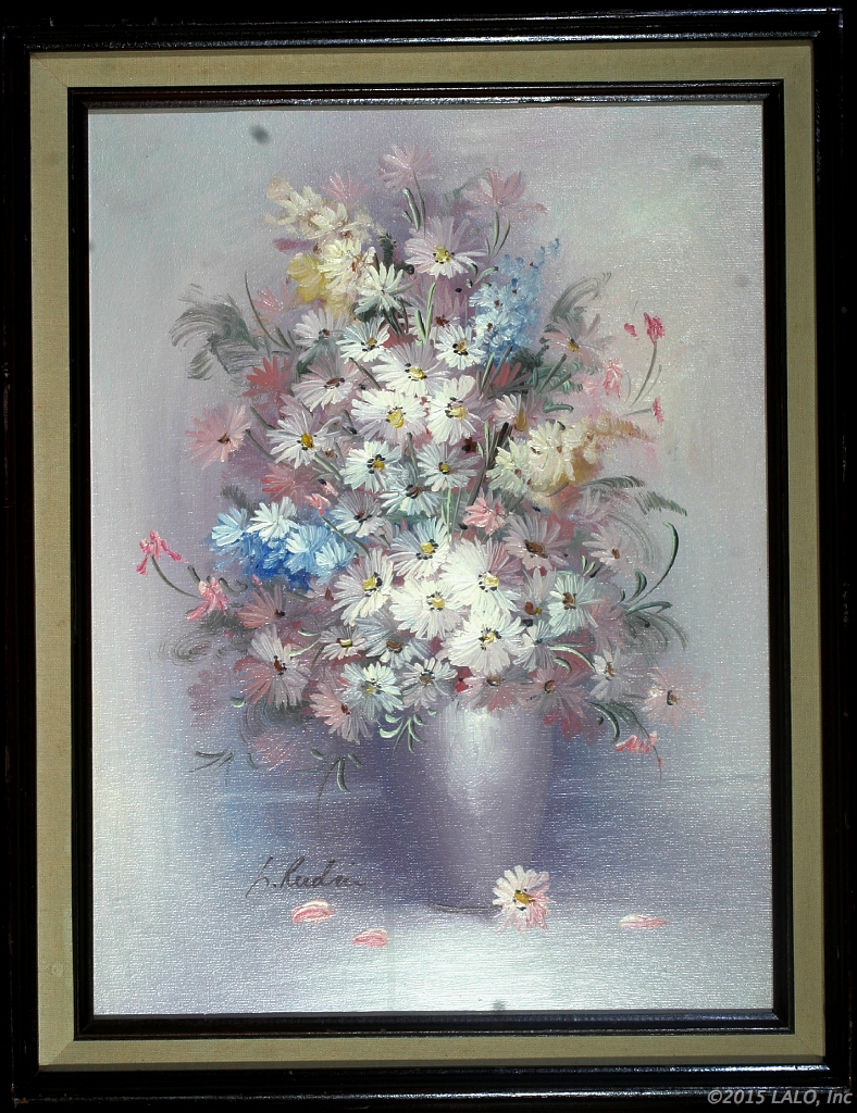Flowers in Vase by   Reedman