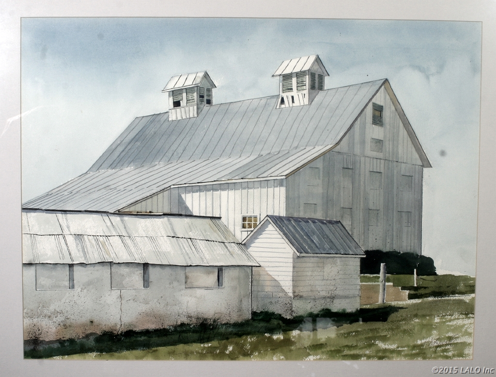 Barns at Wolf Trap by Arnold C. Holeywell