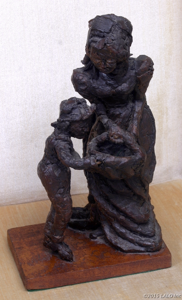 Mother with Child by Bryane Lickson