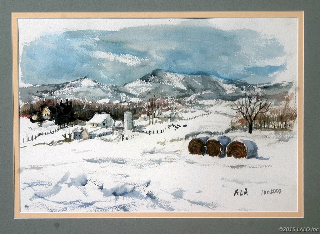Winter In Warren County by Roxolana Armstrong