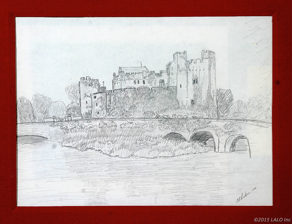 Castle in Ireland by Charles Lickson
