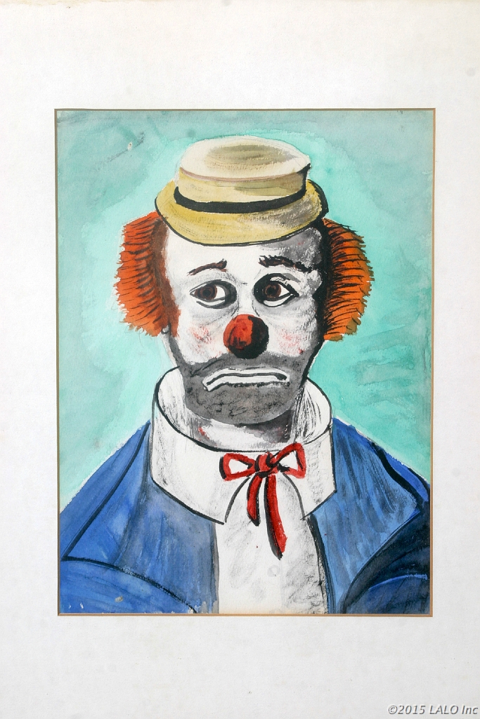 Sad Clown by Charles Lickson