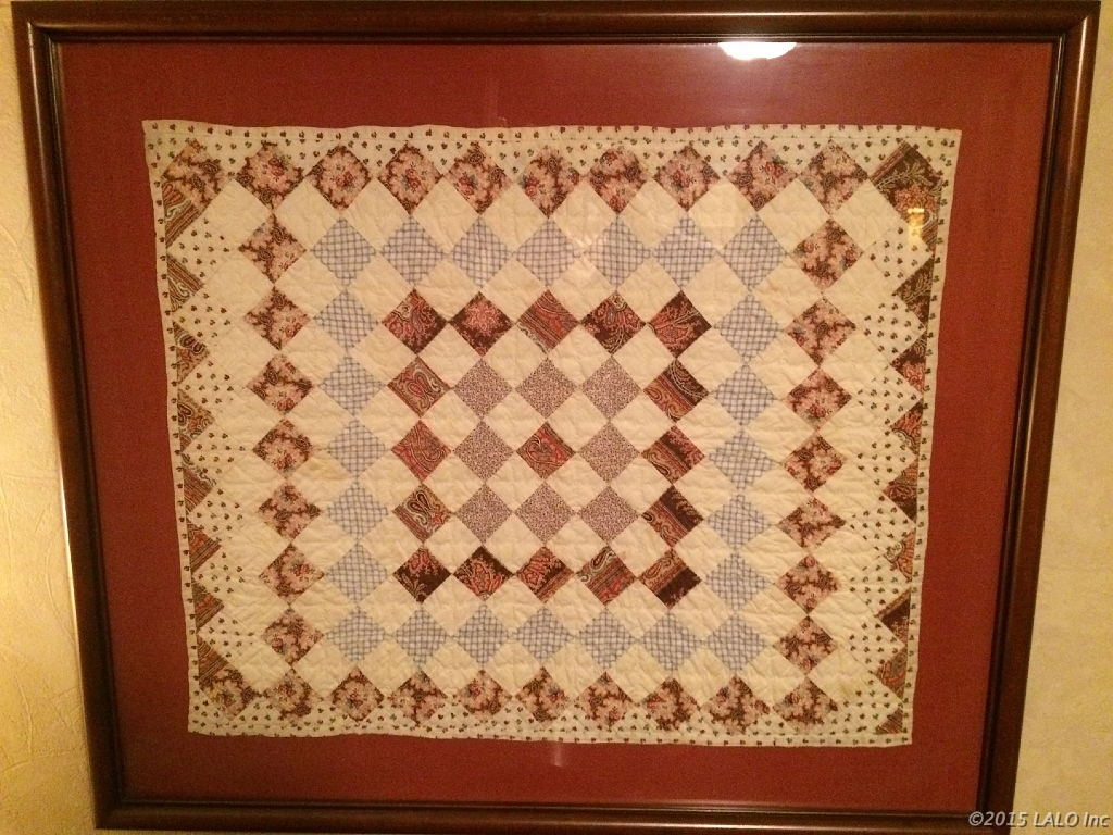 Baby Blanket by Mamie Fredericks