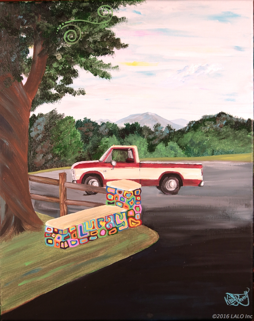 Big Andy's Pickup by Kristy Revell