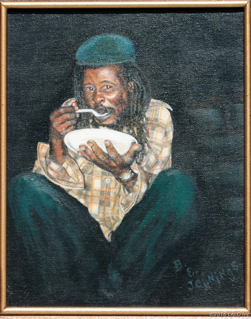 Jamaican Man by Barbara E. Jennings