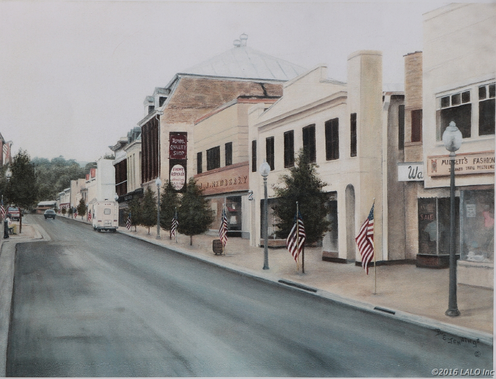 Main Street, Front Royal, VA by Barbara E. Jennings