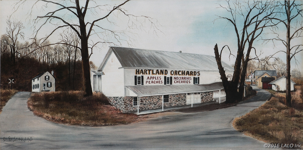 Heartland Orchard, Markham, VA by Barbara E. Jennings