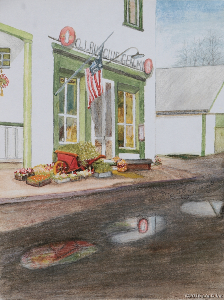 Rudacille's Store, Browntown by Barbara E. Jennings