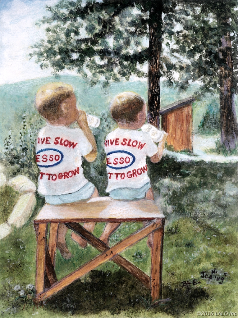 Esso Boys by Barbara E. Jennings