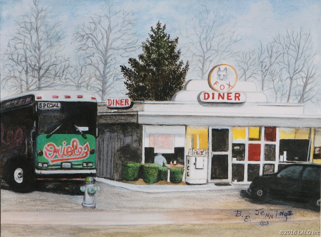 Fox Diner, Front Royal, VA by Barbara E. Jennings