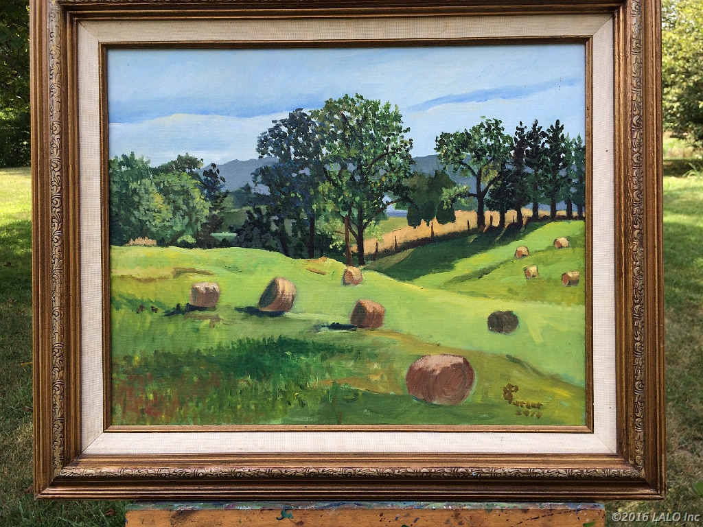 Rolling Hills Rte 55 by Clive Turner