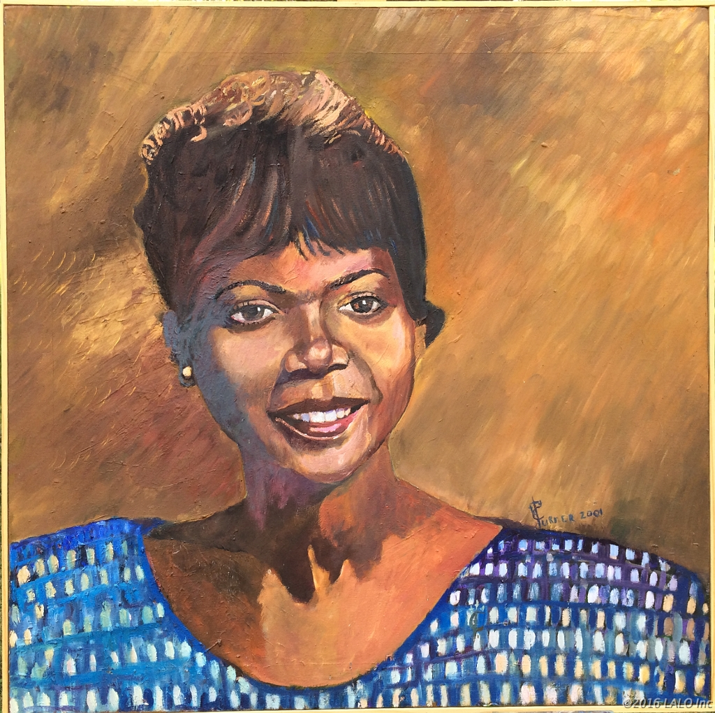 Wilma Rudolph by Clive Turner