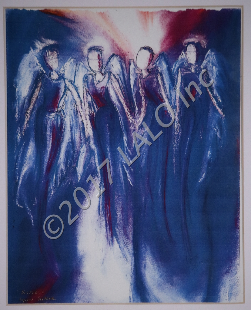 Four Angels by Lynne Seitzer