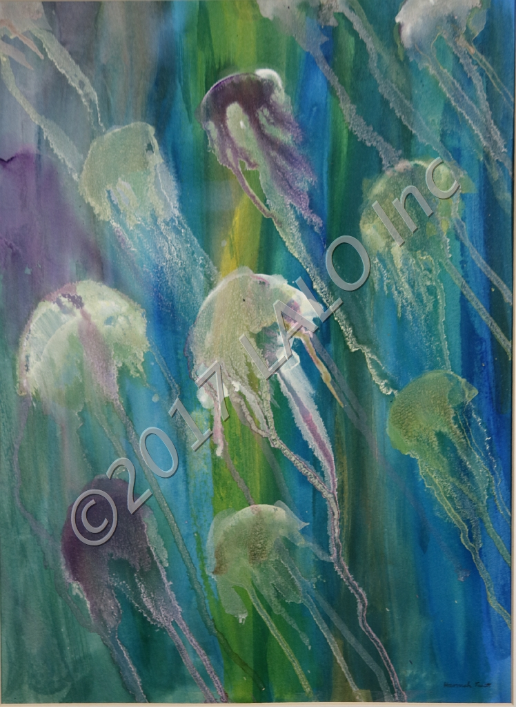 Jelly Fish Rising by Hannah Truitt