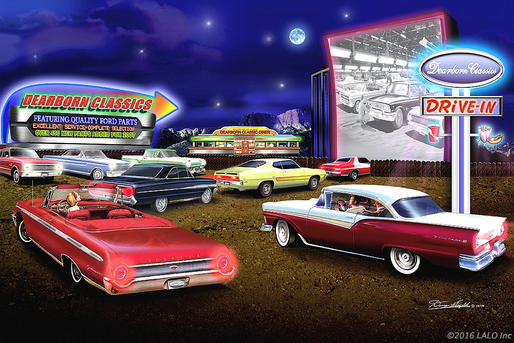 Dearborn Classic Drive In Theater by Danny Whitfield