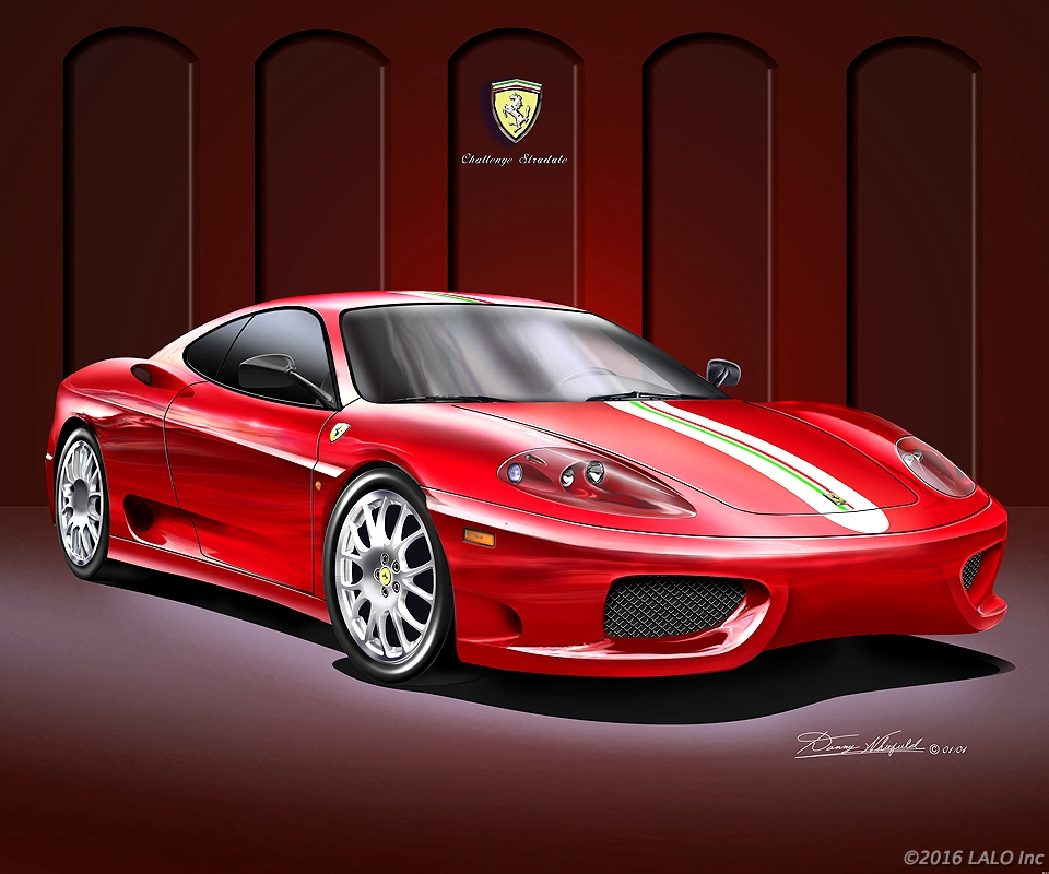 Ferarri Challenge Stradale by Danny Whitfield