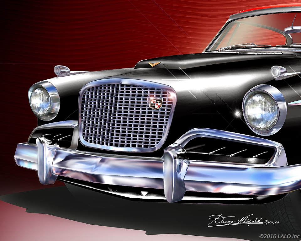 1957 Studebaker Golden Hawk by Danny Whitfield