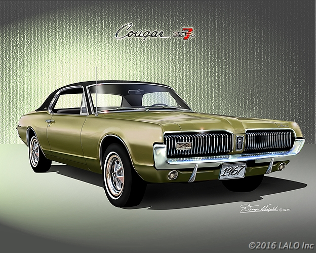 1967 Mercury Cougar XR-7 by Danny Whitfield