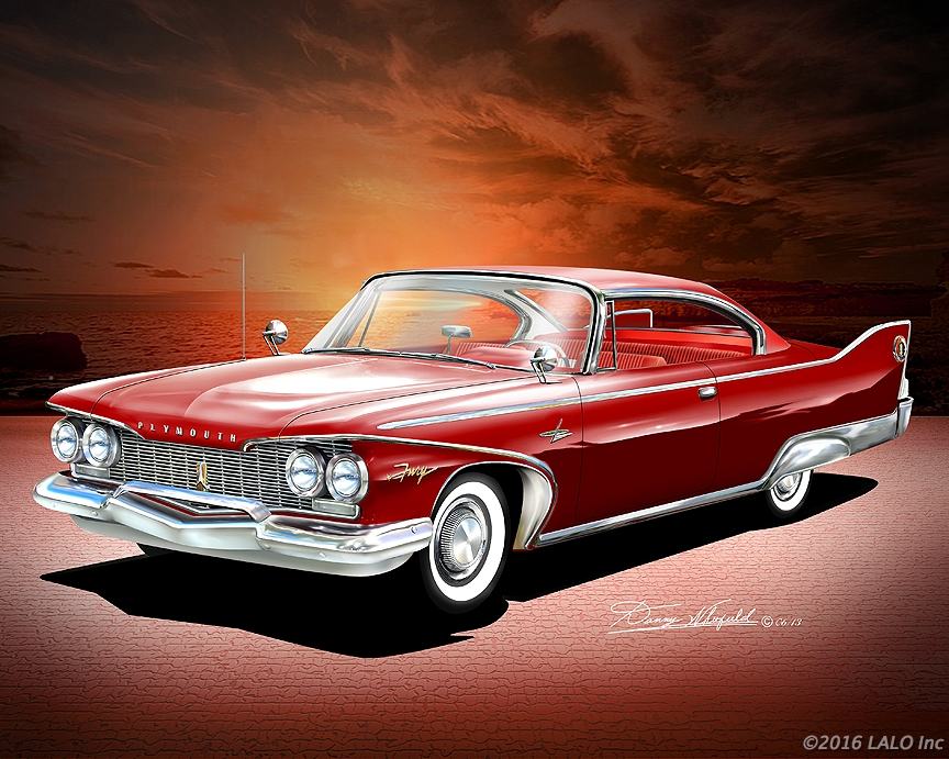 1960 Plymouth Fury by Danny Whitfield
