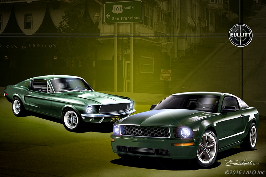 Bullitt - Together Brothers by Danny Whitfield