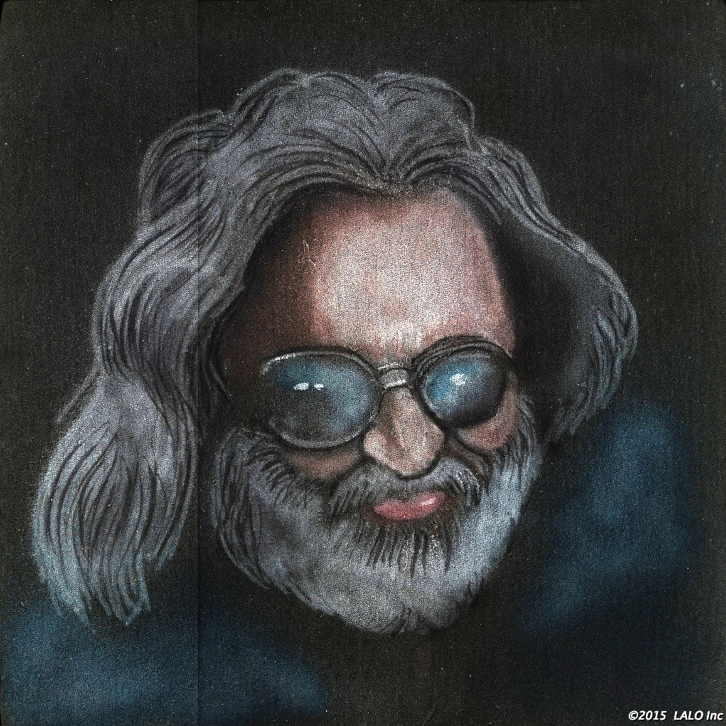 Jerry Garcia by Artist Unknown