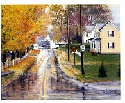 Bentonville In Autumn by Barbara E. Jennings