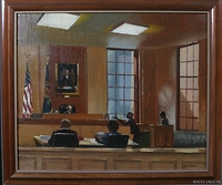 Court Scene by Patricia Windrow