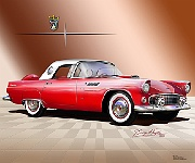 1956 T Bird by Danny Whitfield