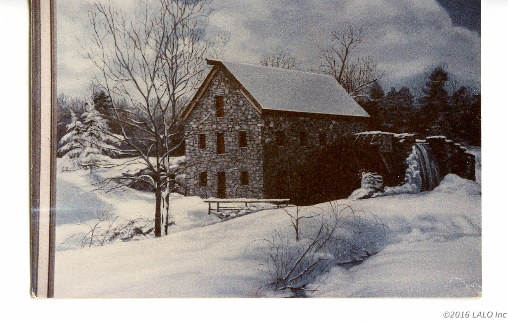 Winter Mill by Barbara E. Jennings