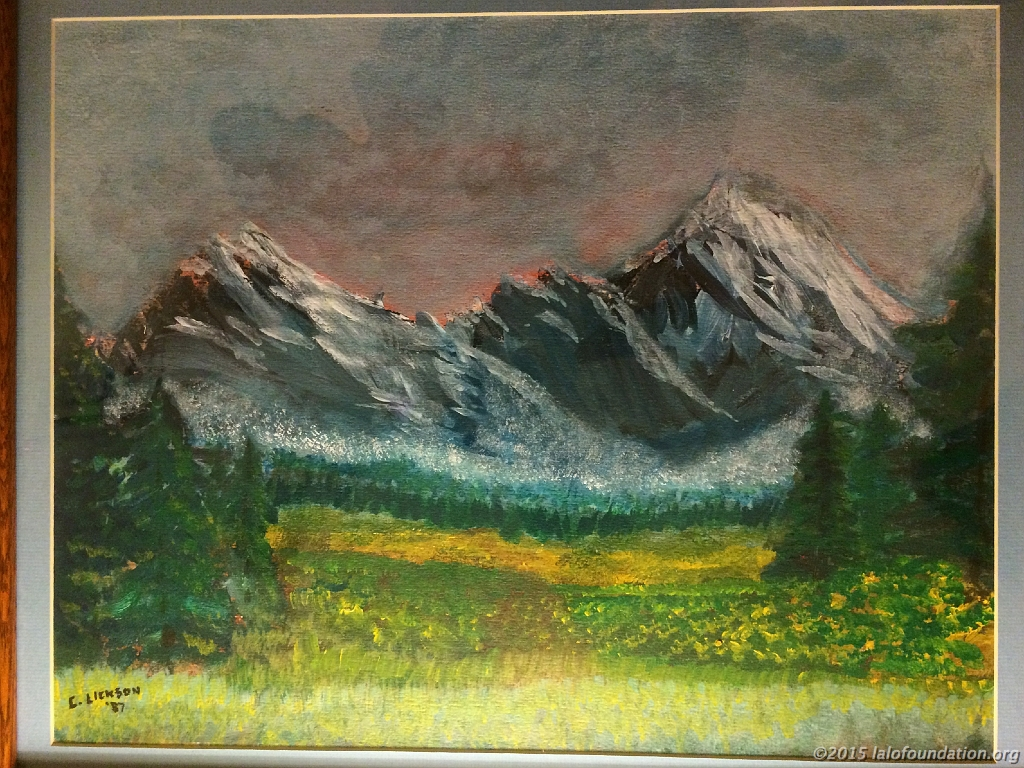 """Mountain Meadows"" by Charles Lickson"