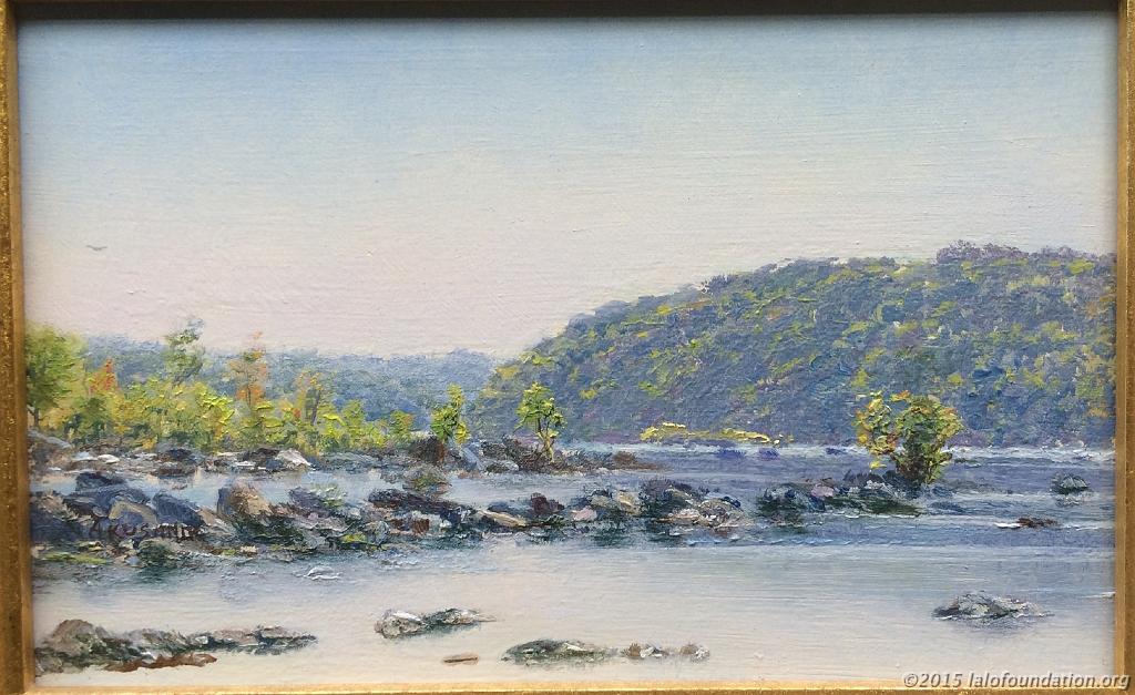 """""""Autumn Light on Potomac Lock No. 8"""" by Andrei Kushnir"""