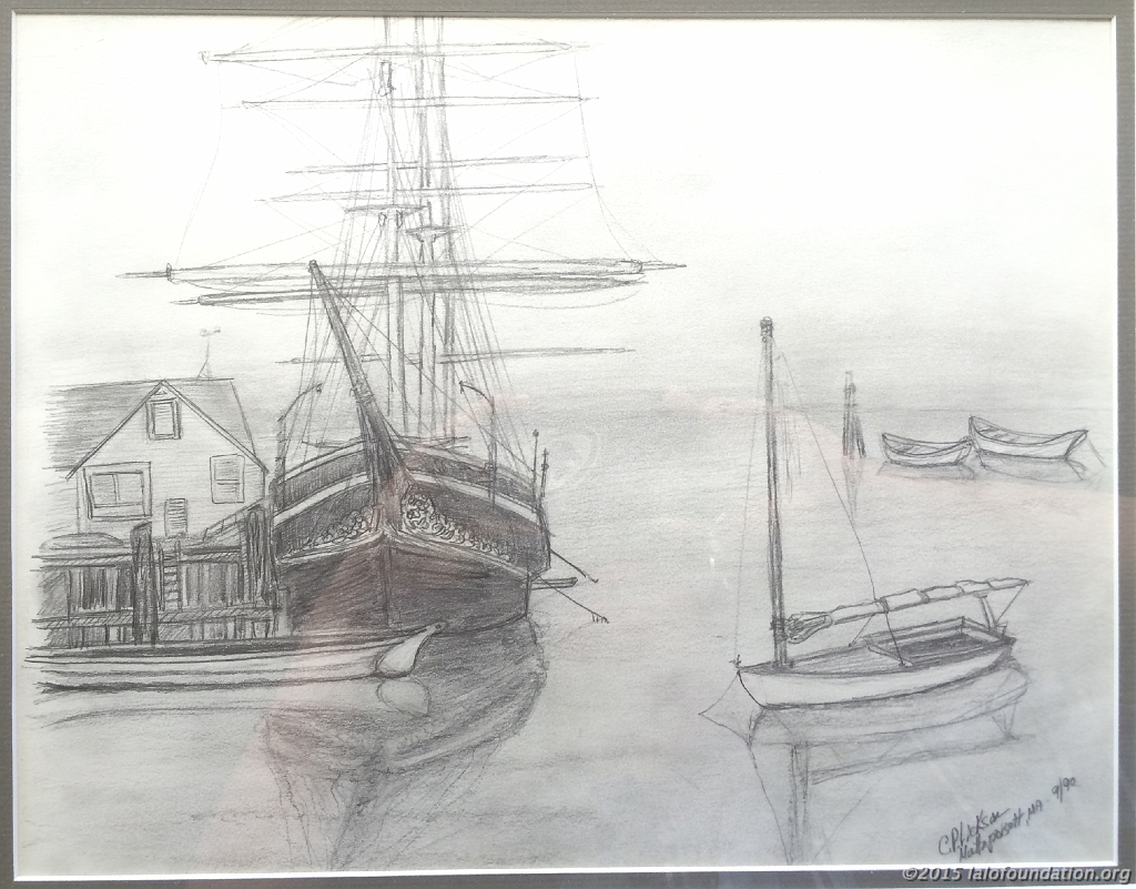 """Charles Morgan Ship, Mystic, CT"" by Charles Lickson"